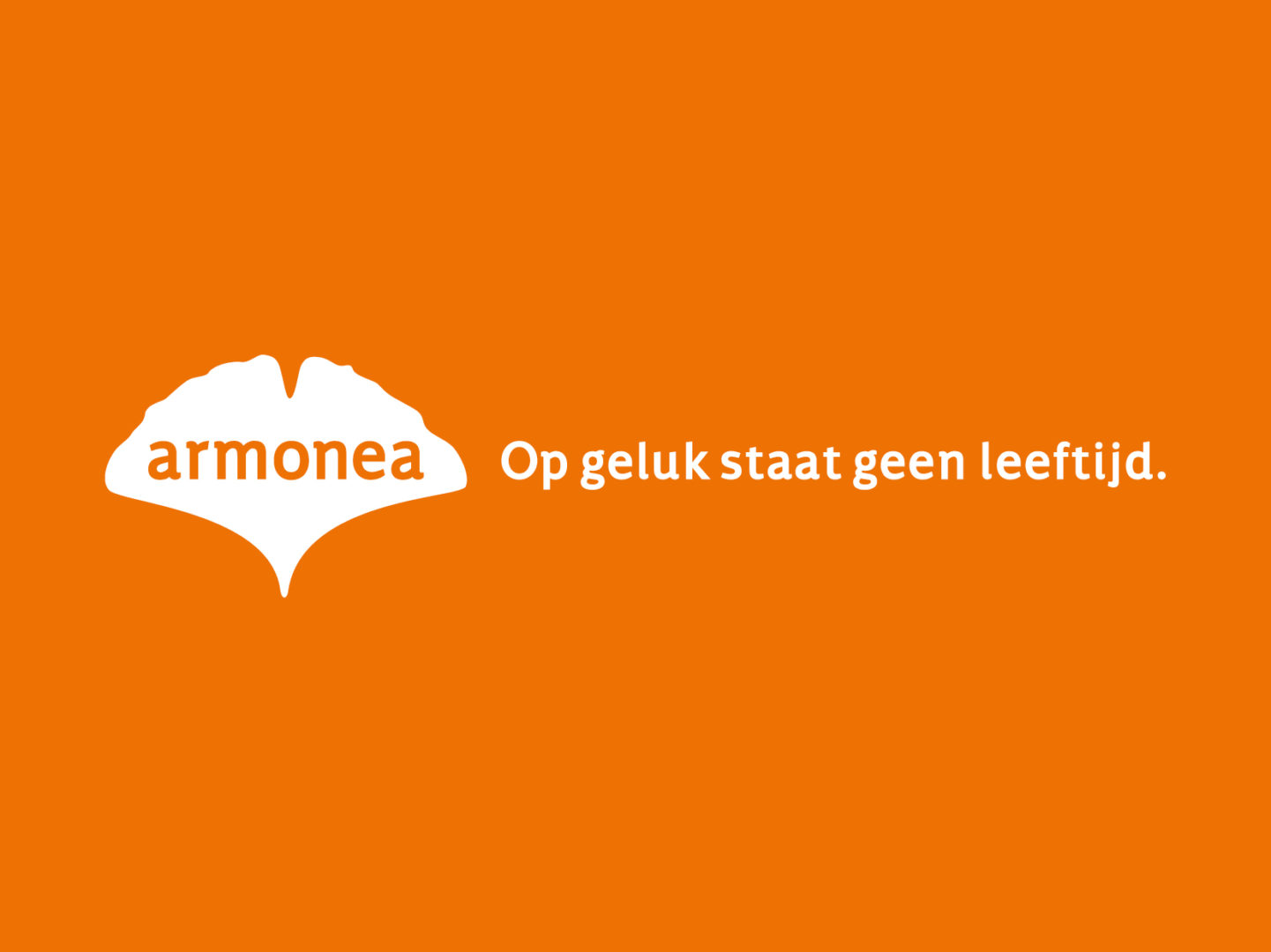 Armonea logo and tagline