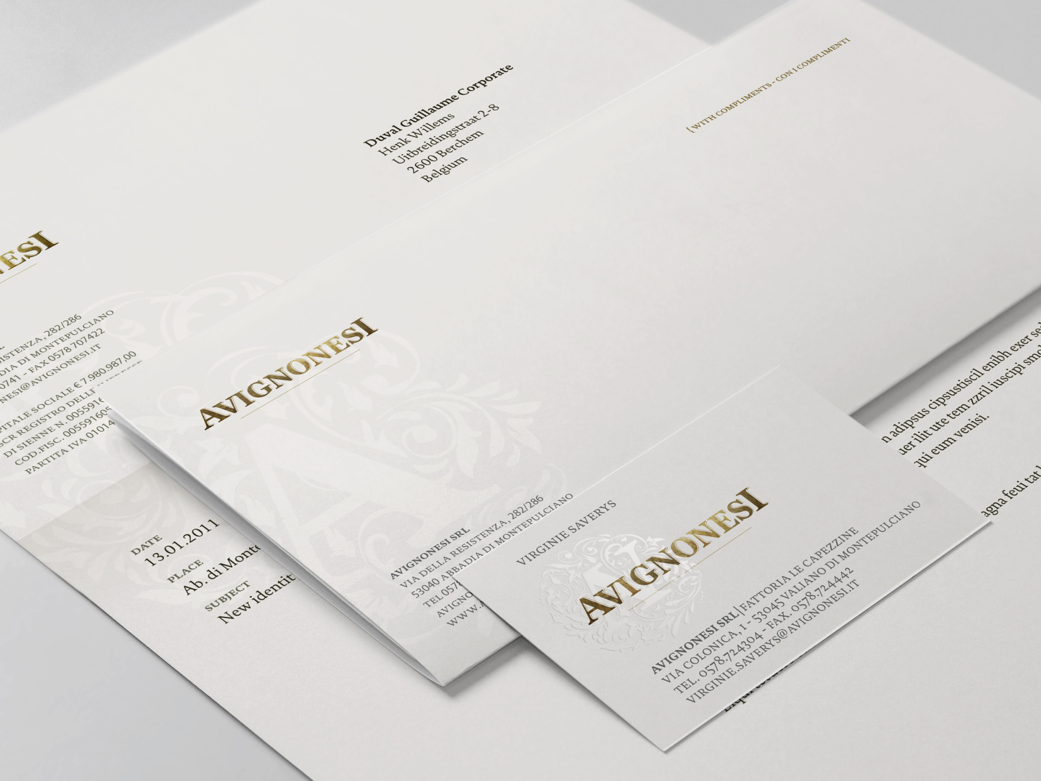 Avignonesi Stationery