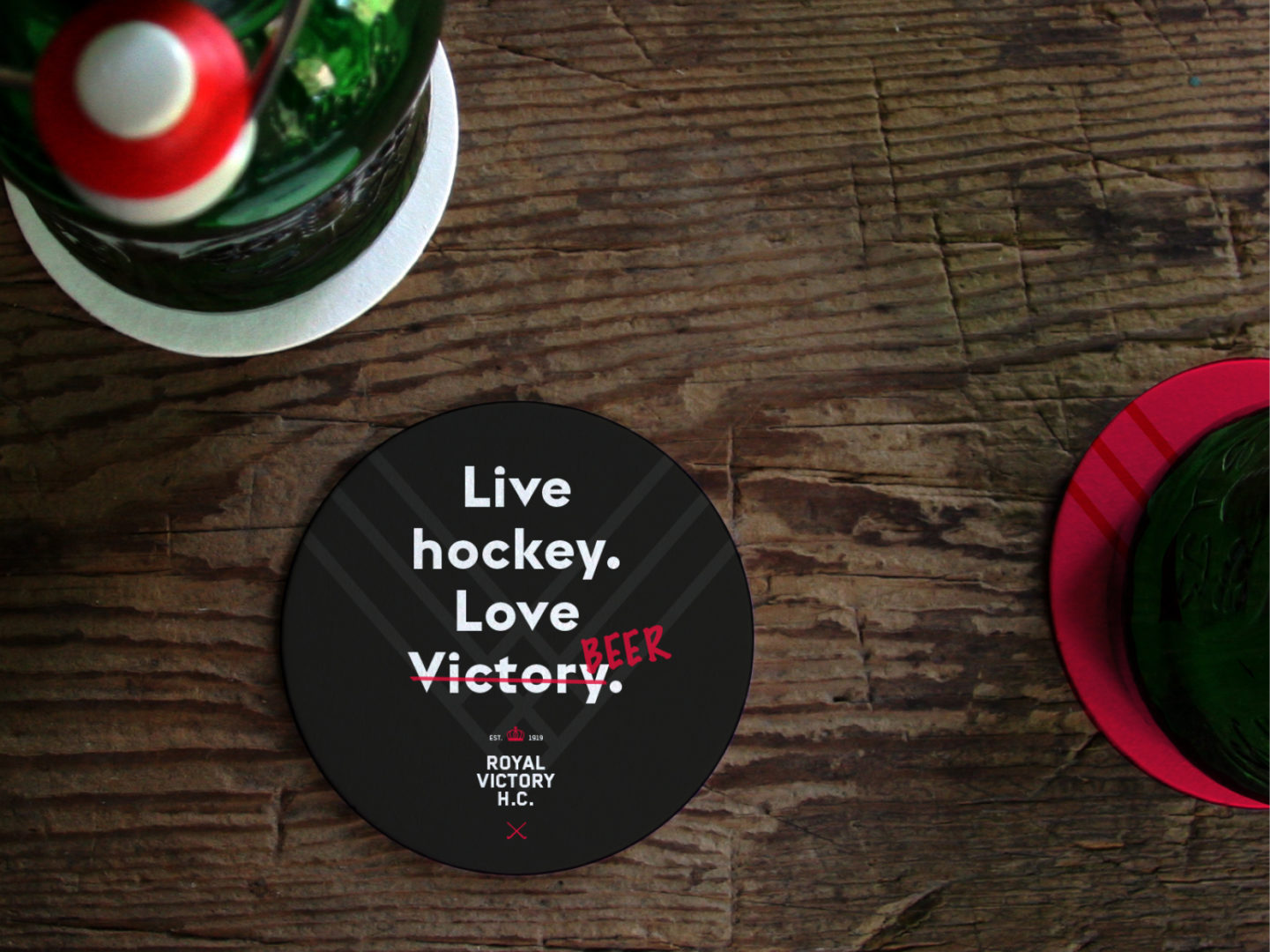 Victory tagline