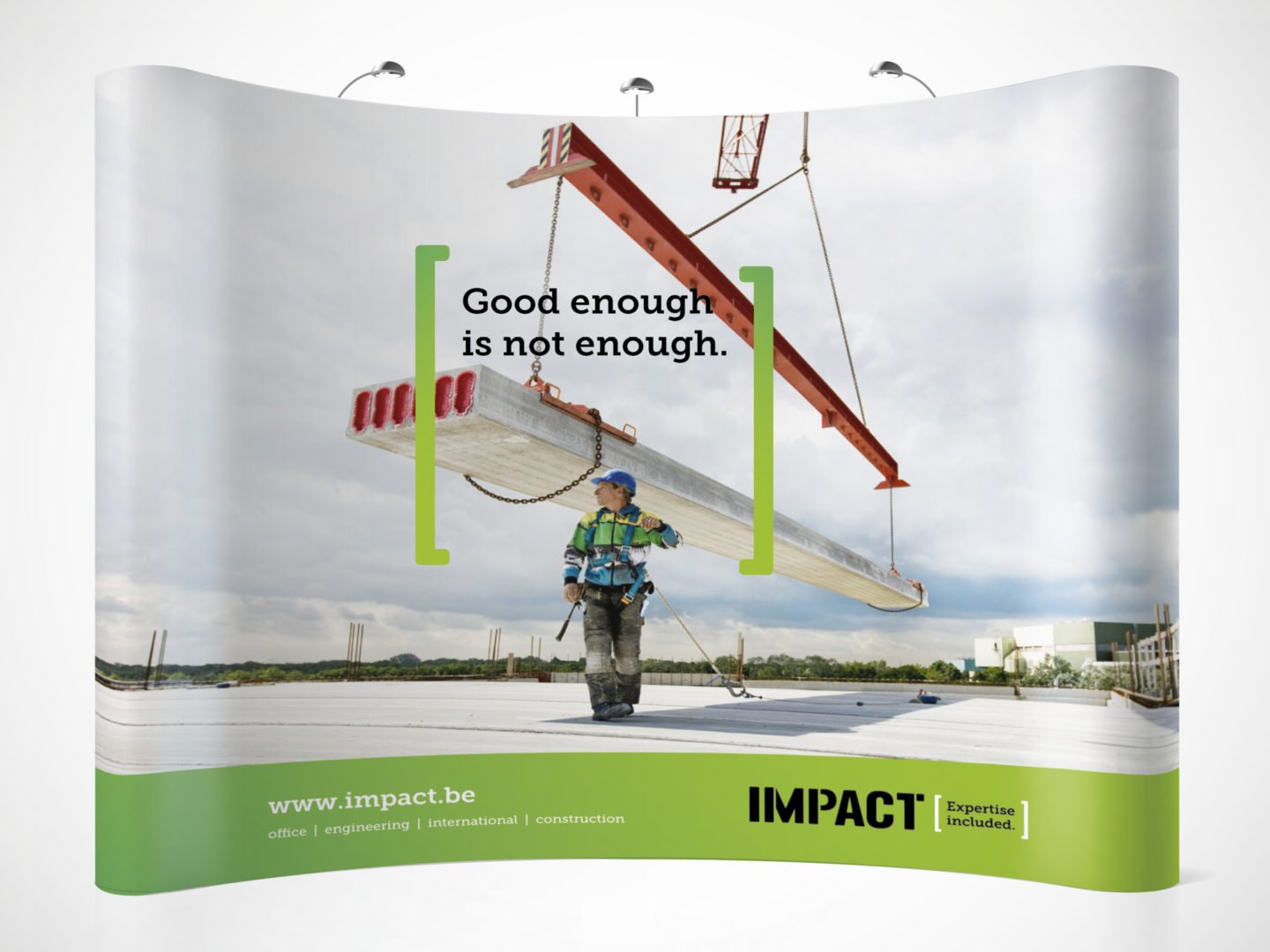 Impact booth