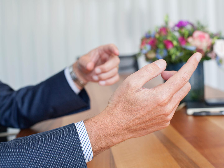 Mercier meeting photo
