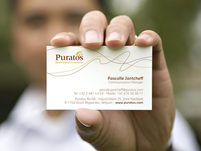 Puratos Business cards